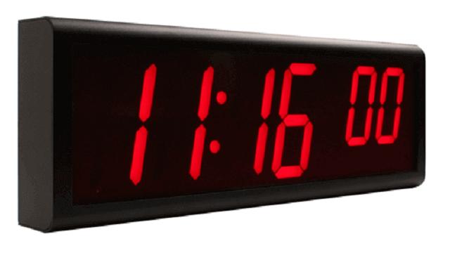 Цифровые часы Ethernet
