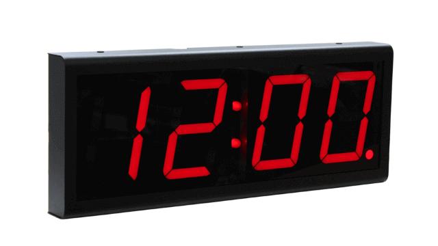 Ethernet настенные часы