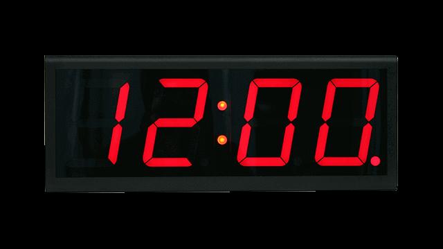 Подключенные к интернету настенные часы