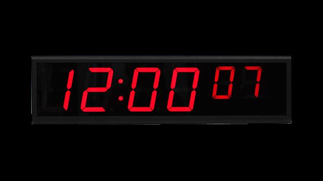 NTP цифровые часы